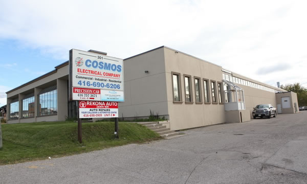 Cosmos Electrical in Toronto.