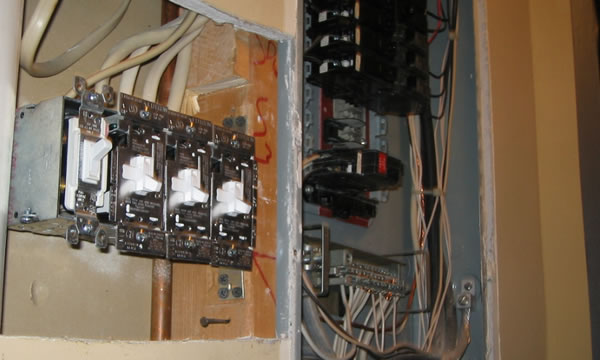 Electrical Panel Upgrades and Electrical Service Upgrades.
