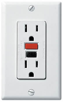 GFI Outlet Repair and Replacement in Toronto.